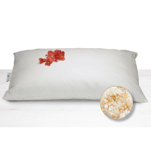 """Guanciale """"Perla Cirmolo"""" Daunenstep 50 x 80 cm, per una migliorata qualità del sonno ed effetto calmante"""